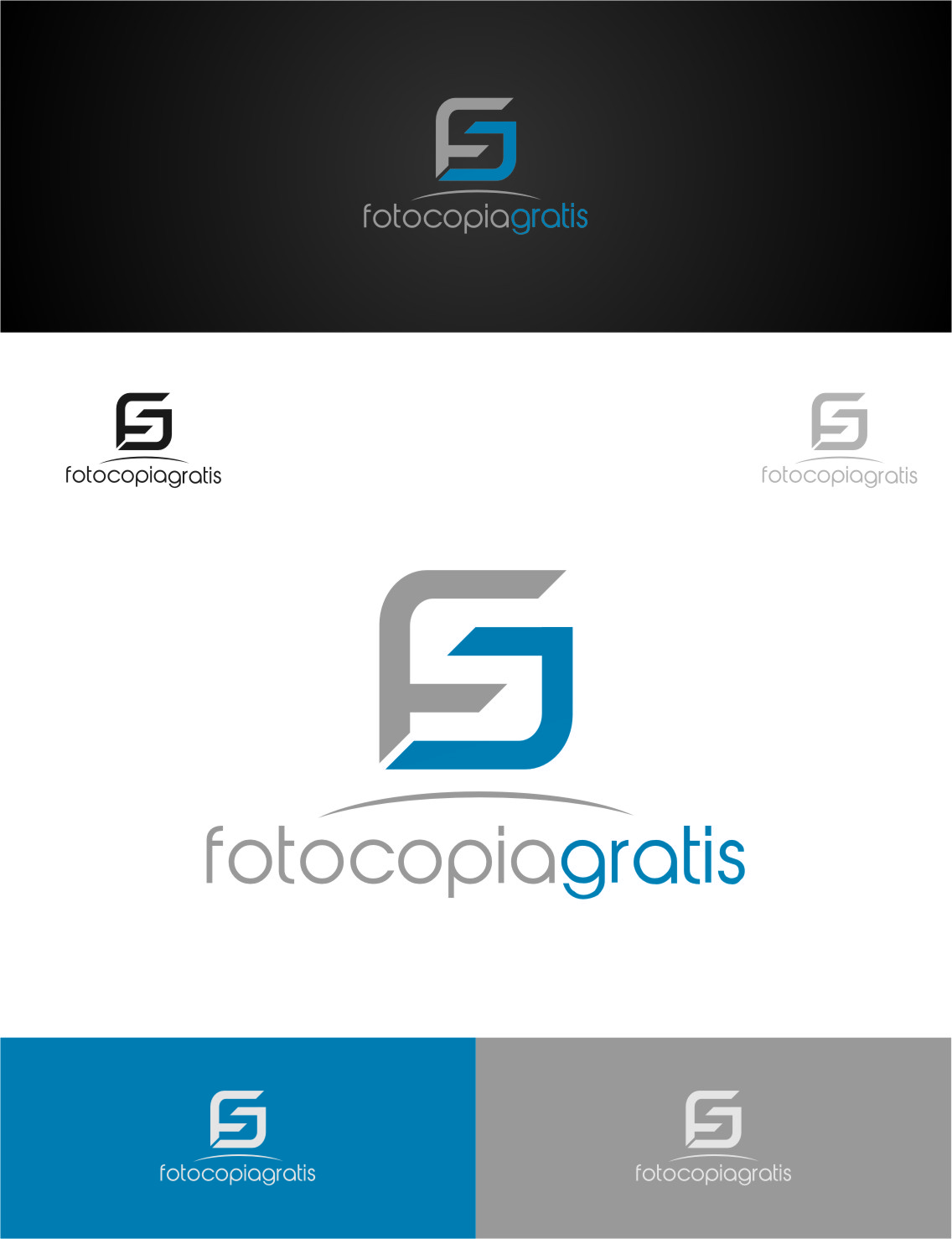 Logo Design by RasYa Muhammad Athaya - Entry No. 262 in the Logo Design Contest Inspiring Logo Design for Fotocopiagratis.