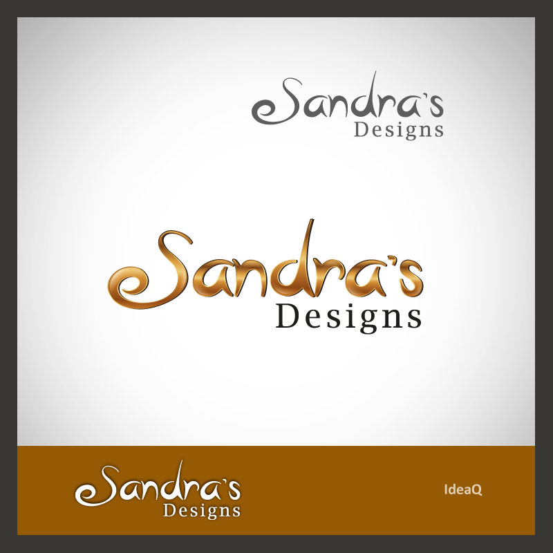 Logo Design by Private User - Entry No. 57 in the Logo Design Contest Imaginative Logo Design for Sandra's.