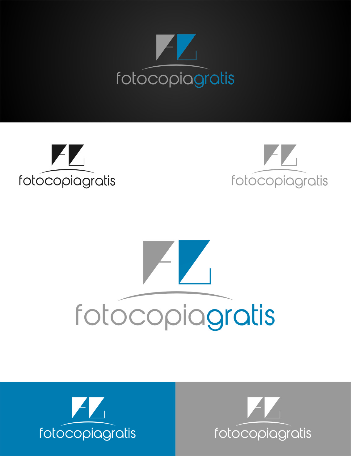 Logo Design by RasYa Muhammad Athaya - Entry No. 265 in the Logo Design Contest Inspiring Logo Design for Fotocopiagratis.