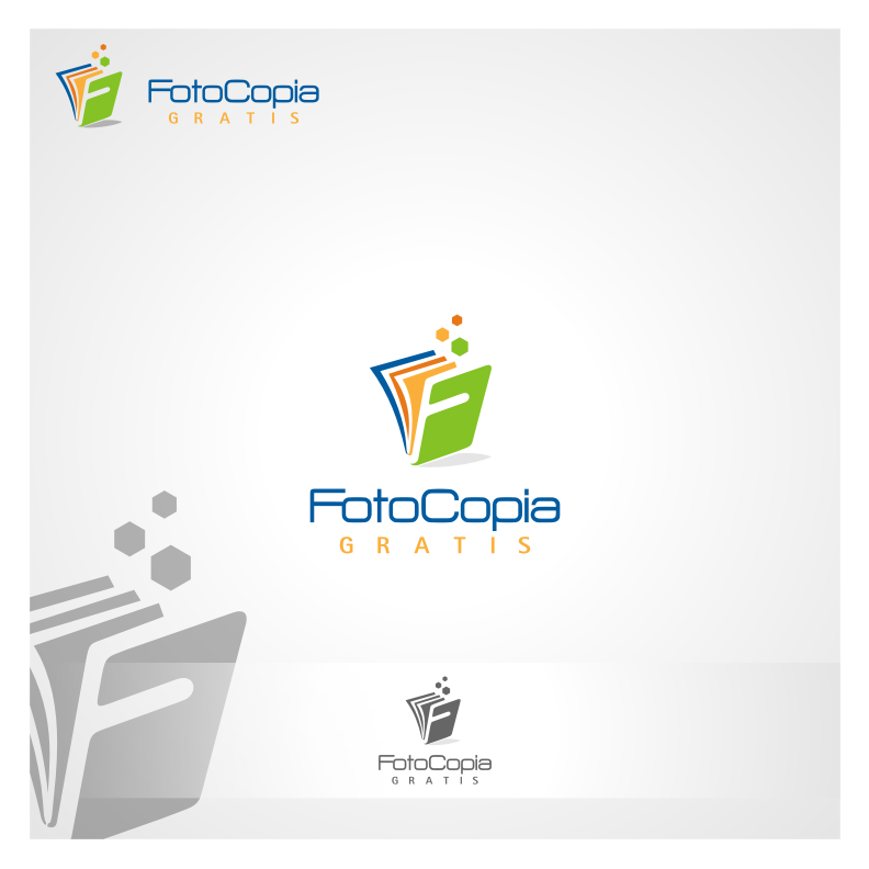 Logo Design by graphicleaf - Entry No. 268 in the Logo Design Contest Inspiring Logo Design for Fotocopiagratis.