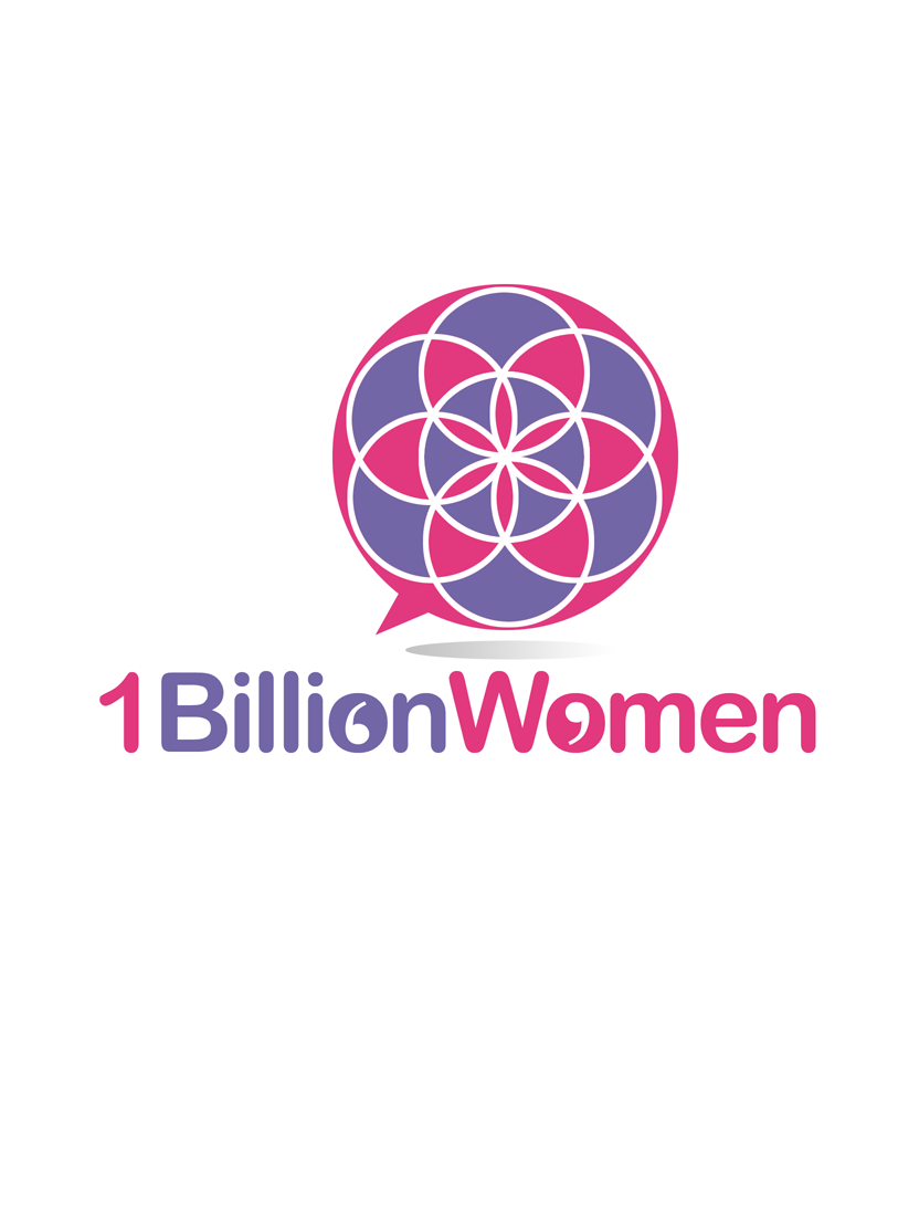 Logo Design by Robert Turla - Entry No. 110 in the Logo Design Contest Fun Logo Design for 1BillionWomen.