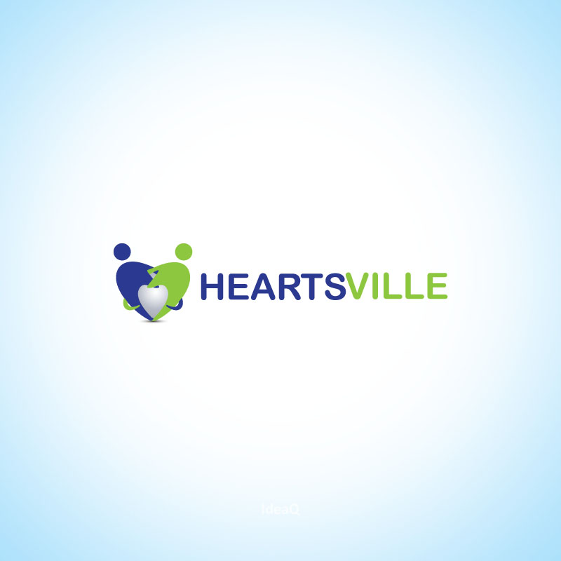 Logo Design by Private User - Entry No. 24 in the Logo Design Contest Unique Logo Design Wanted for Heartsville.