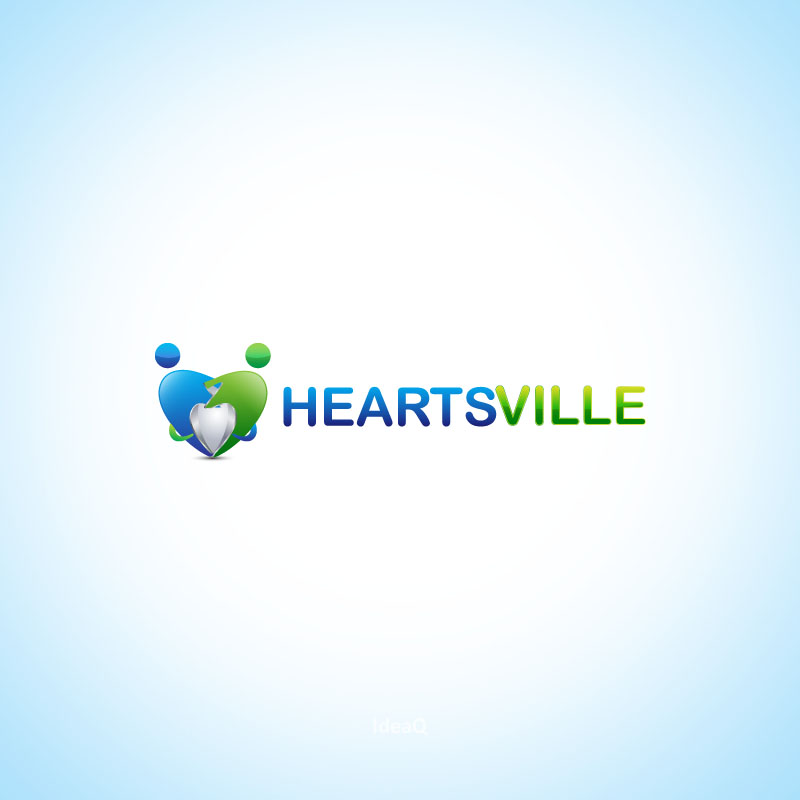 Logo Design by Private User - Entry No. 25 in the Logo Design Contest Unique Logo Design Wanted for Heartsville.