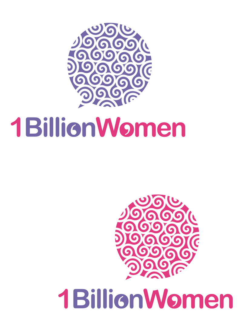 Logo Design by Private User - Entry No. 112 in the Logo Design Contest Fun Logo Design for 1BillionWomen.