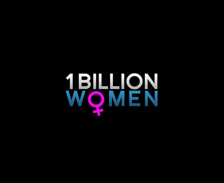 Logo Design by Juan_Kata - Entry No. 113 in the Logo Design Contest Fun Logo Design for 1BillionWomen.