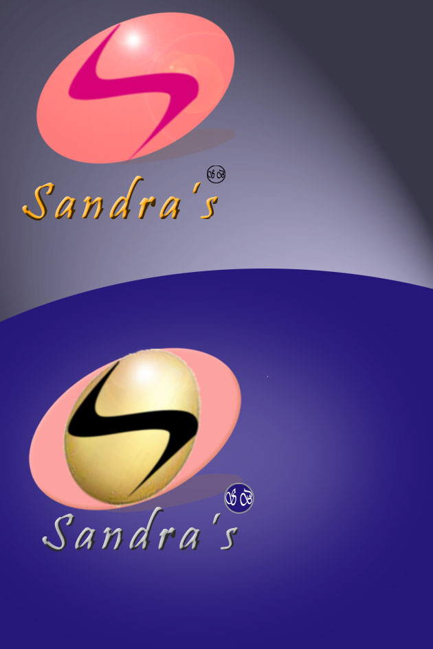 Logo Design by faza-bejo - Entry No. 63 in the Logo Design Contest Imaginative Logo Design for Sandra's.