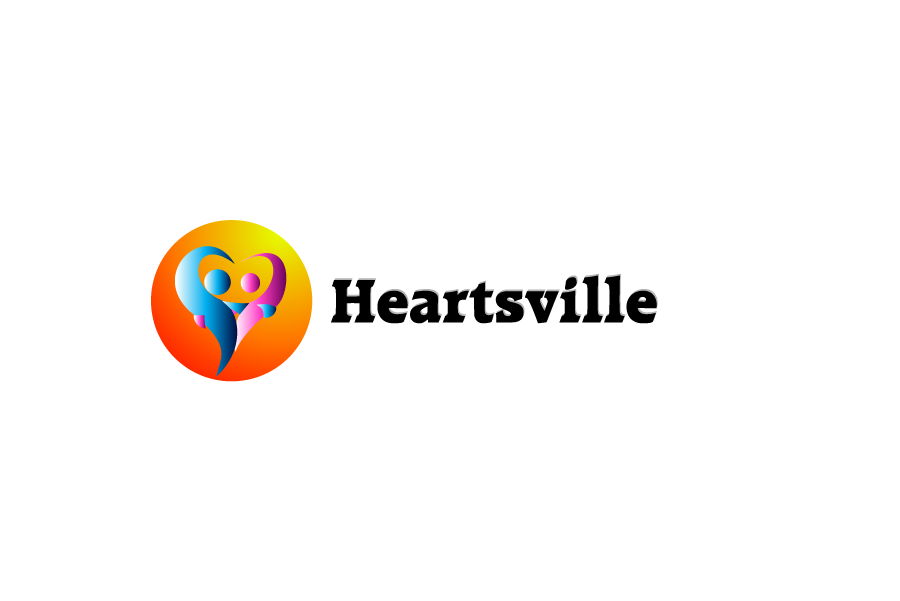 Logo Design by brands_in - Entry No. 27 in the Logo Design Contest Unique Logo Design Wanted for Heartsville.