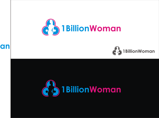 Logo Design by Armada Jamaluddin - Entry No. 131 in the Logo Design Contest Fun Logo Design for 1BillionWomen.