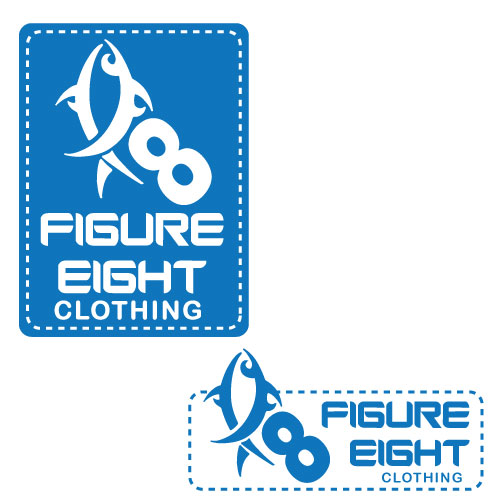 Logo Design by Prasad Dhale - Entry No. 101 in the Logo Design Contest Artistic Logo Design for Figure Eight Clothing.