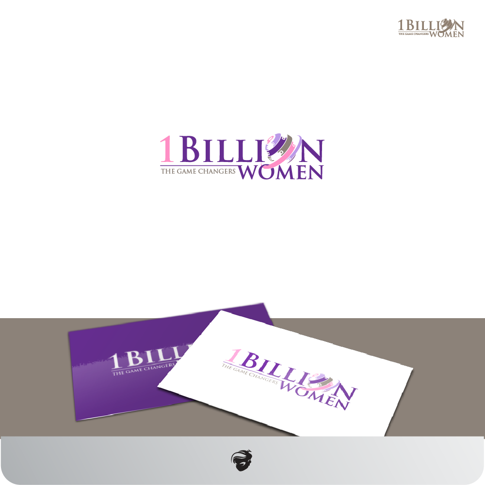 Logo Design by zesthar - Entry No. 137 in the Logo Design Contest Fun Logo Design for 1BillionWomen.