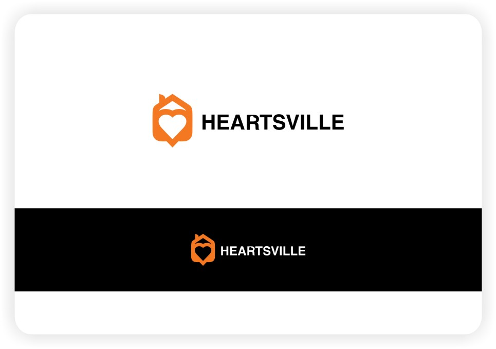 Logo Design by untung - Entry No. 30 in the Logo Design Contest Unique Logo Design Wanted for Heartsville.