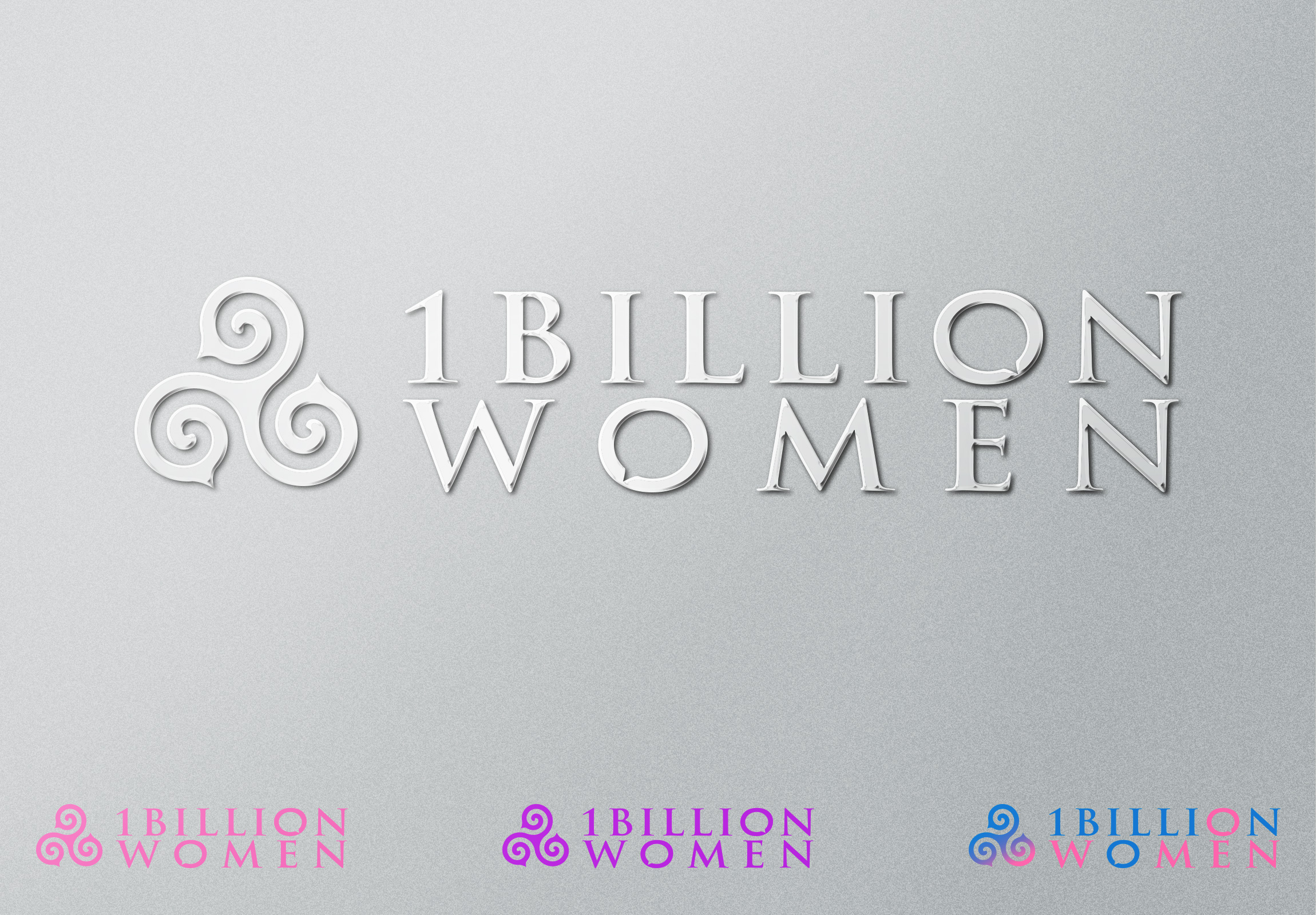 Logo Design by olii - Entry No. 138 in the Logo Design Contest Fun Logo Design for 1BillionWomen.