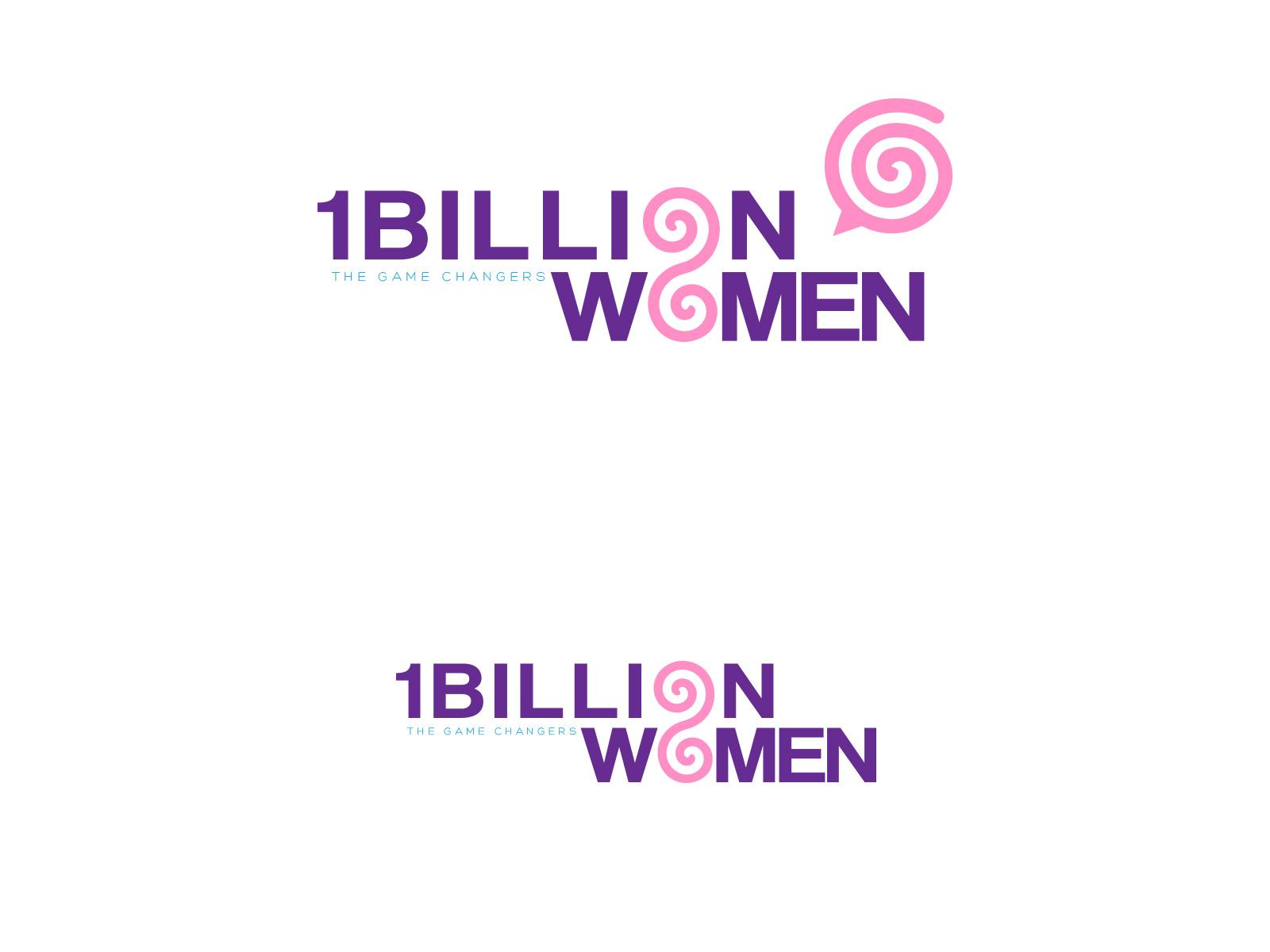Logo Design by olii - Entry No. 139 in the Logo Design Contest Fun Logo Design for 1BillionWomen.