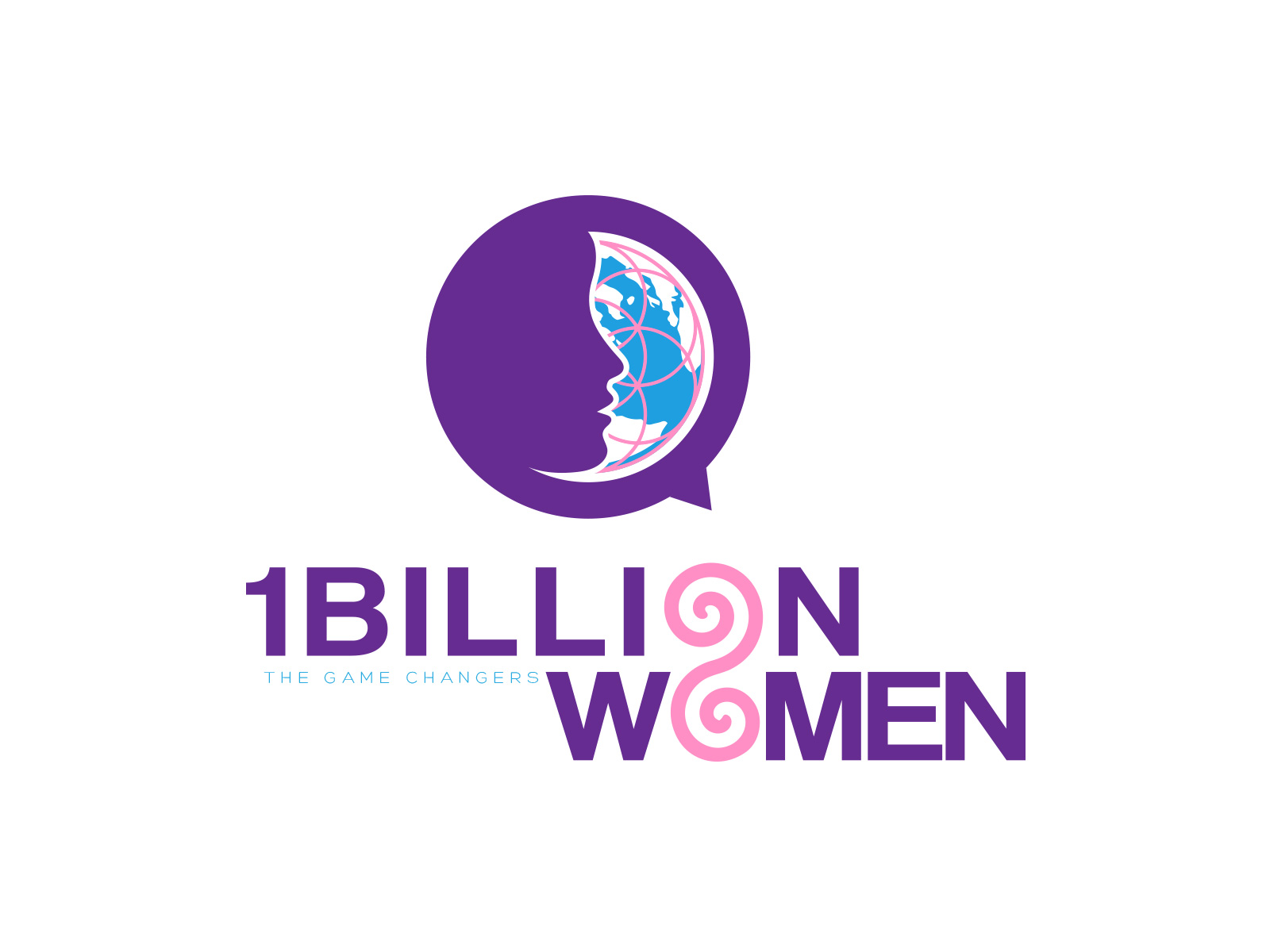 Logo Design by olii - Entry No. 142 in the Logo Design Contest Fun Logo Design for 1BillionWomen.