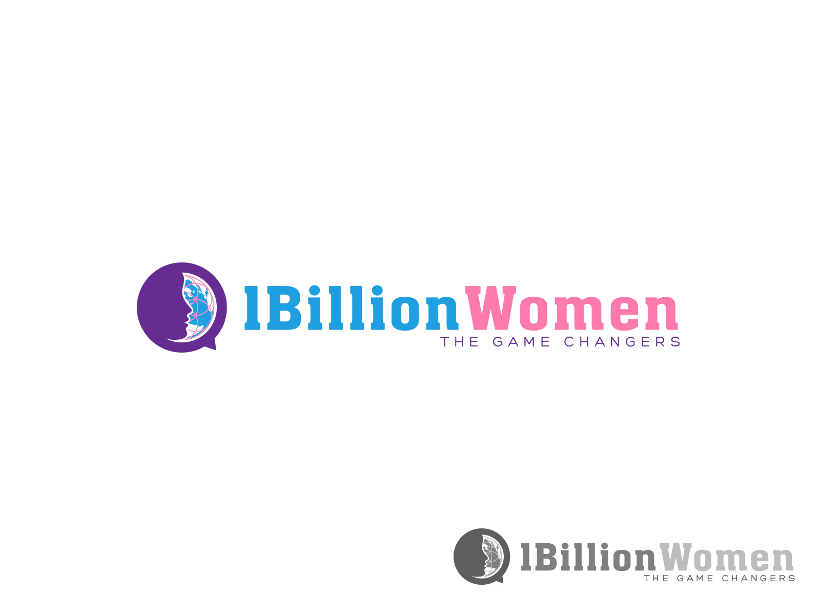 Logo Design by olii - Entry No. 143 in the Logo Design Contest Fun Logo Design for 1BillionWomen.