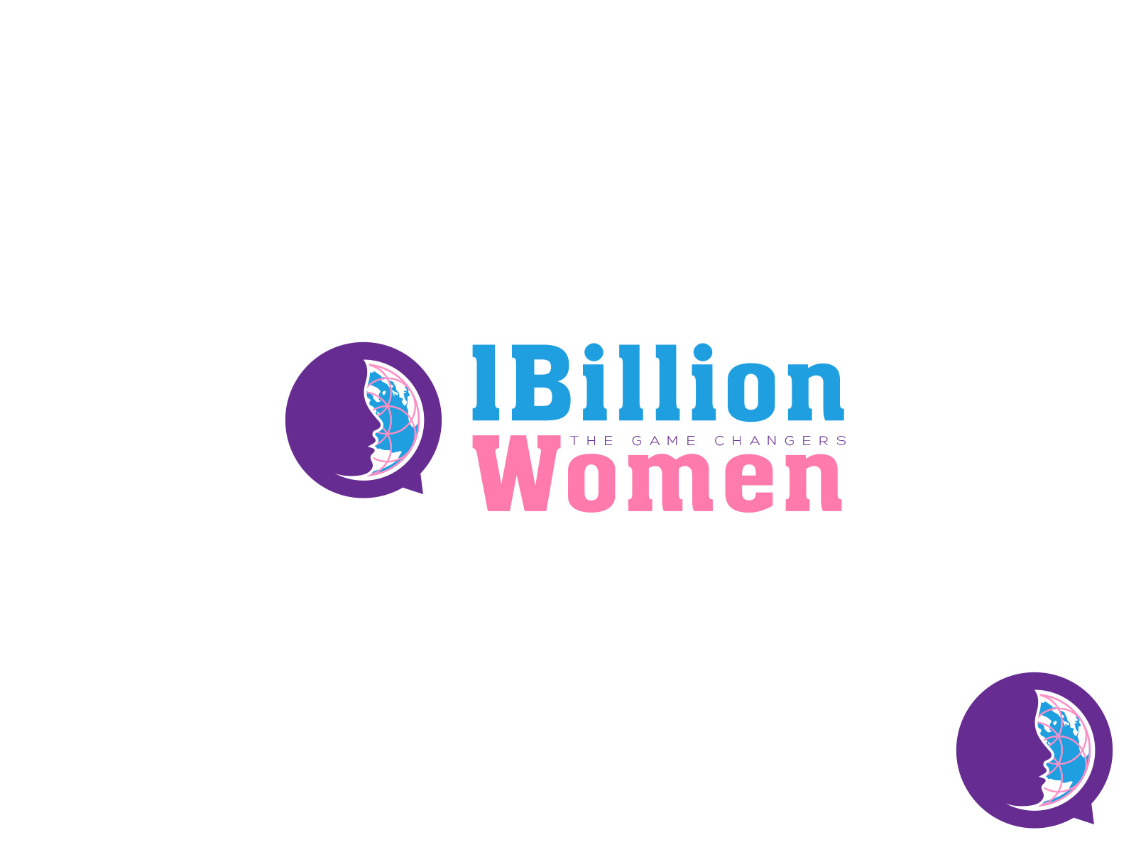 Logo Design by olii - Entry No. 144 in the Logo Design Contest Fun Logo Design for 1BillionWomen.