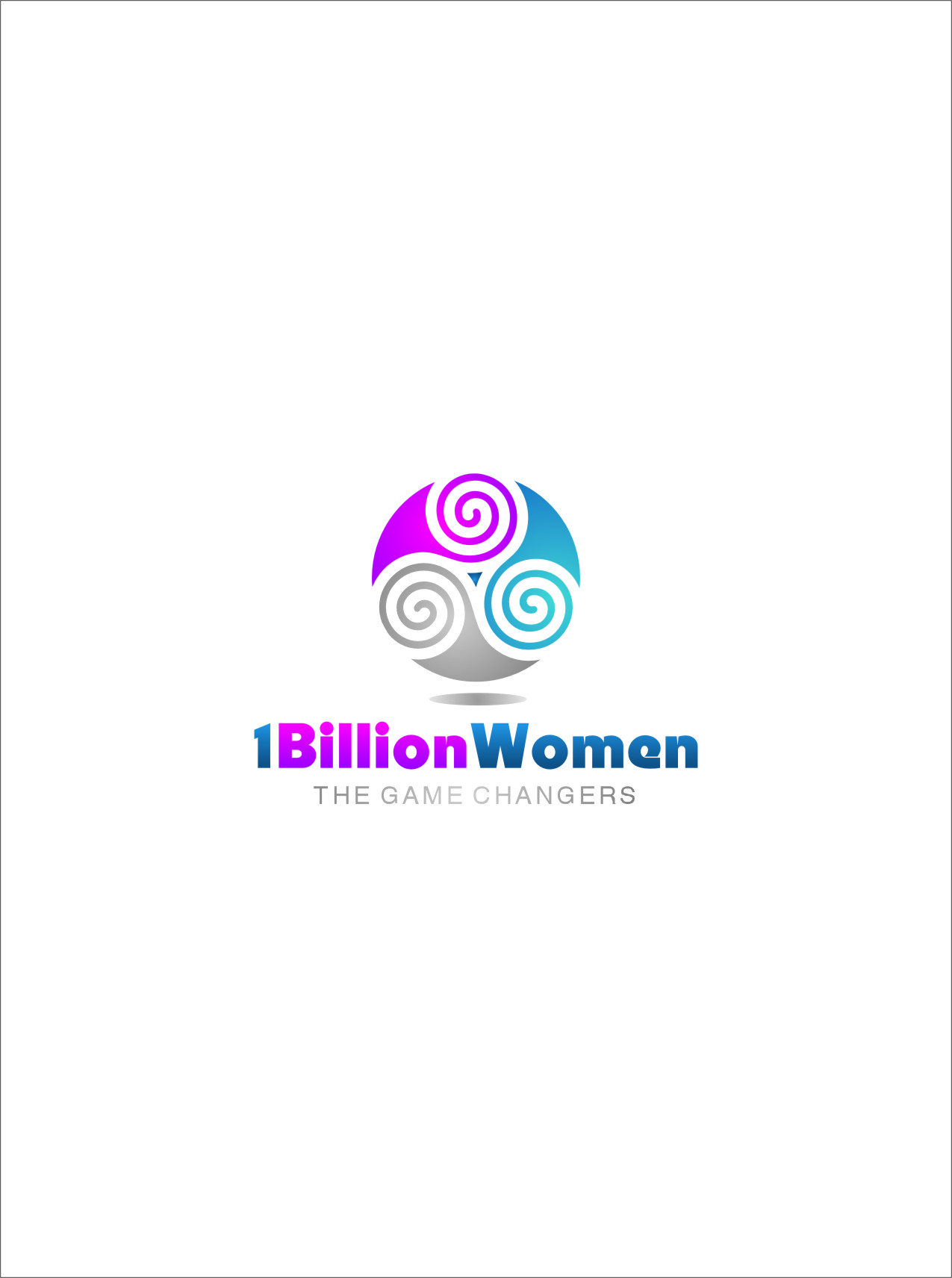 Logo Design by RasYa Muhammad Athaya - Entry No. 149 in the Logo Design Contest Fun Logo Design for 1BillionWomen.
