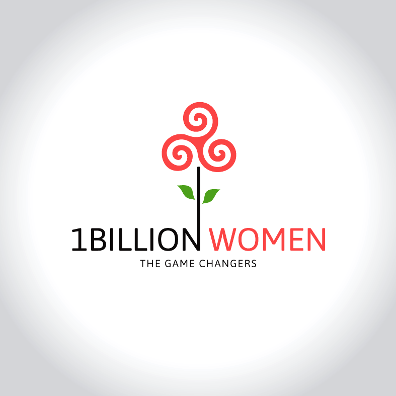 Logo Design by luna - Entry No. 154 in the Logo Design Contest Fun Logo Design for 1BillionWomen.