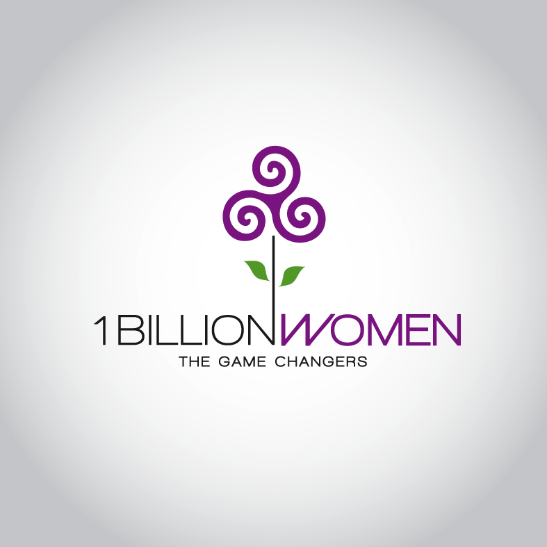 Logo Design by luna - Entry No. 155 in the Logo Design Contest Fun Logo Design for 1BillionWomen.