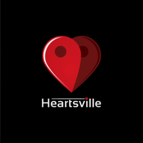 Logo Design by Private User - Entry No. 32 in the Logo Design Contest Unique Logo Design Wanted for Heartsville.