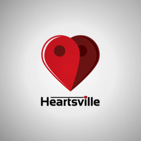 Logo Design by Private User - Entry No. 33 in the Logo Design Contest Unique Logo Design Wanted for Heartsville.