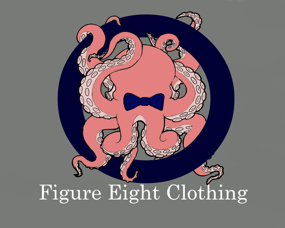 Logo Design by Robyn Hodgdon - Entry No. 121 in the Logo Design Contest Artistic Logo Design for Figure Eight Clothing.