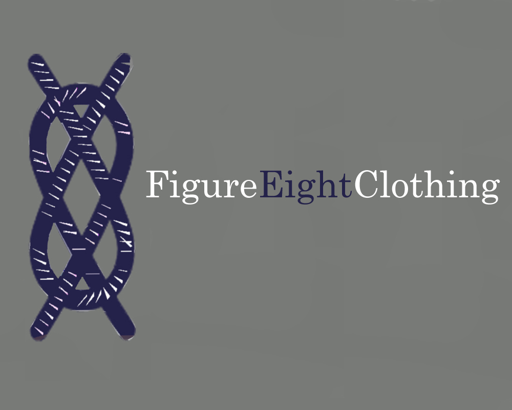 Logo Design by Robyn Hodgdon - Entry No. 126 in the Logo Design Contest Artistic Logo Design for Figure Eight Clothing.