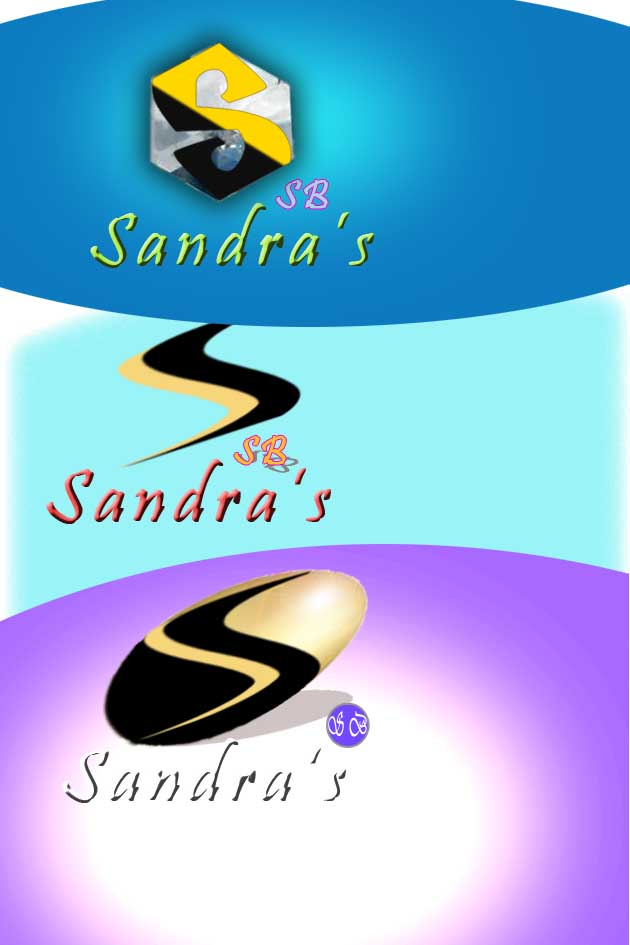 Logo Design by faza-bejo - Entry No. 74 in the Logo Design Contest Imaginative Logo Design for Sandra's.