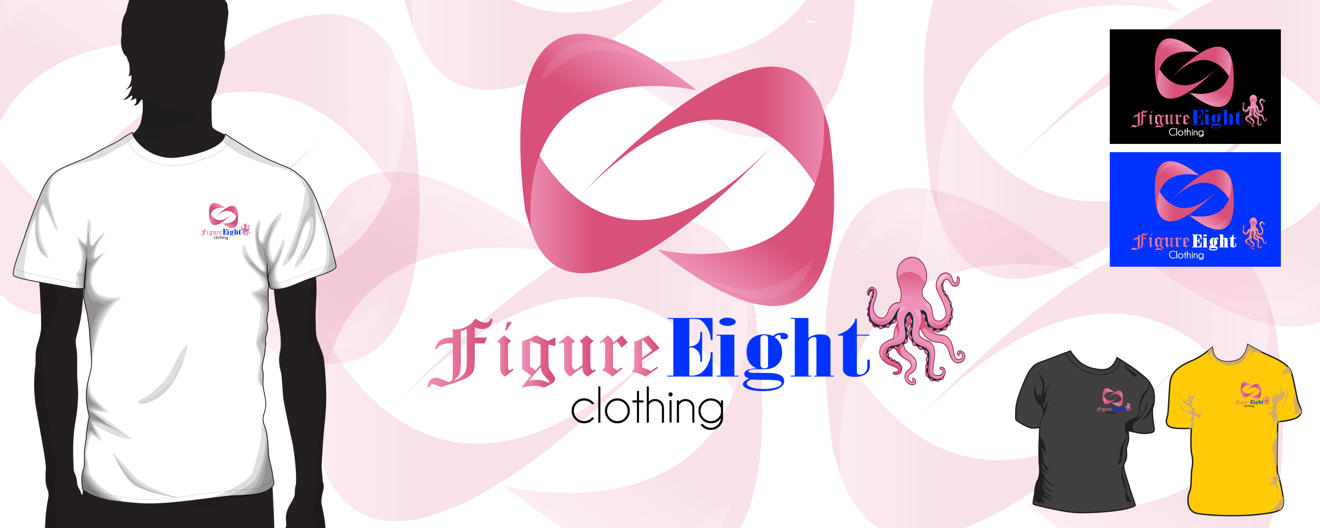 Logo Design by Leonard Anthony Alloso - Entry No. 128 in the Logo Design Contest Artistic Logo Design for Figure Eight Clothing.