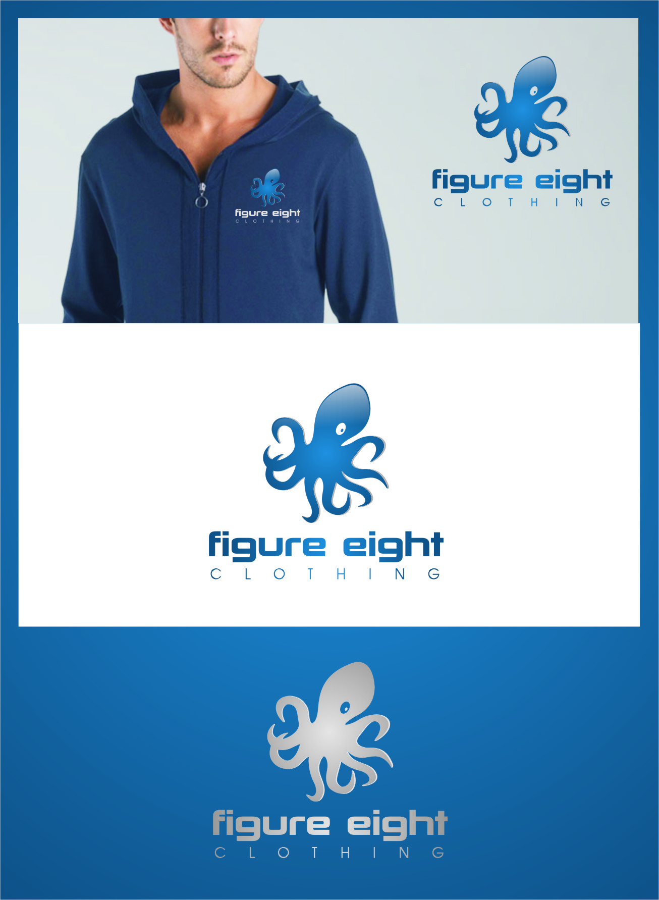 Logo Design by RasYa Muhammad Athaya - Entry No. 129 in the Logo Design Contest Artistic Logo Design for Figure Eight Clothing.