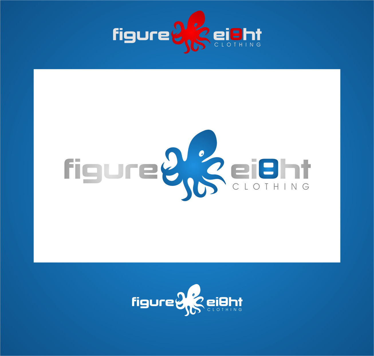 Logo Design by Ngepet_art - Entry No. 132 in the Logo Design Contest Artistic Logo Design for Figure Eight Clothing.