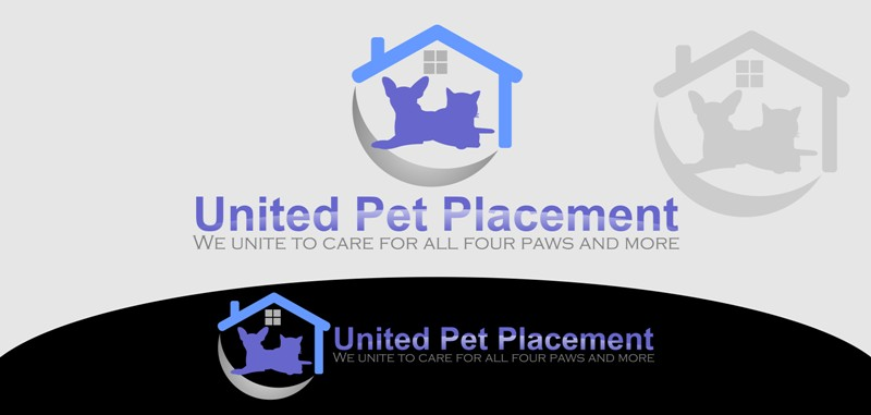 Logo Design by Crispin Jr Vasquez - Entry No. 74 in the Logo Design Contest Artistic Logo Design for united pet placement.