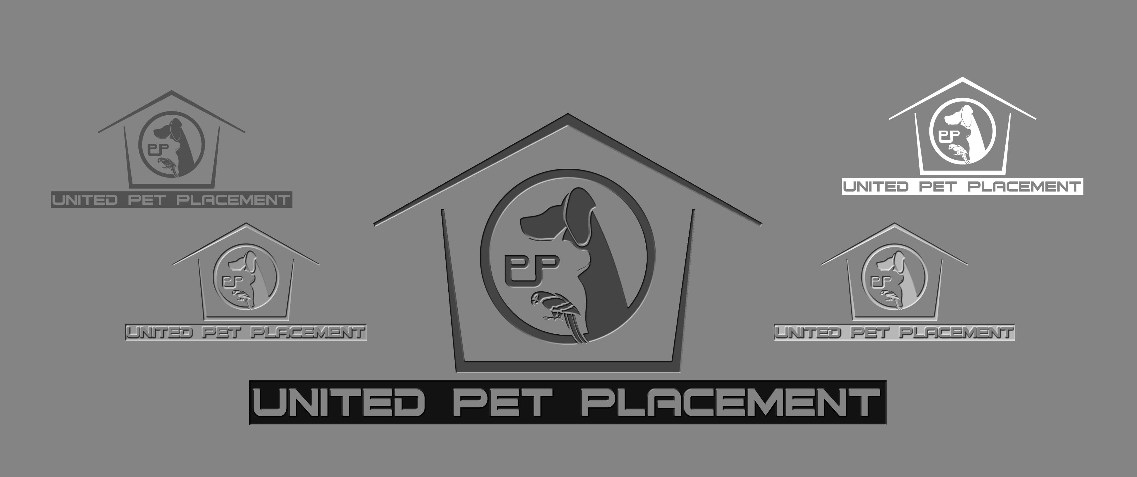 Logo Design by Cesar III Sotto - Entry No. 76 in the Logo Design Contest Artistic Logo Design for united pet placement.