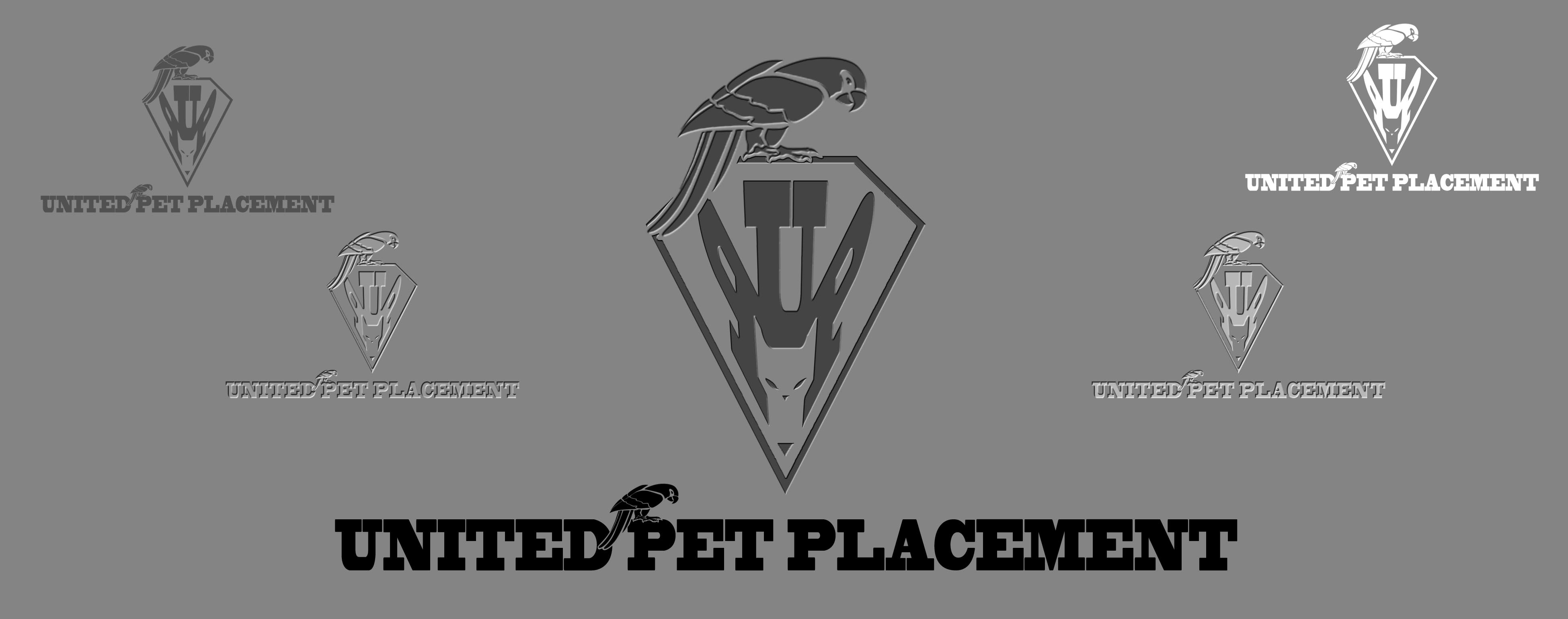 Logo Design by Cesar III Sotto - Entry No. 78 in the Logo Design Contest Artistic Logo Design for united pet placement.