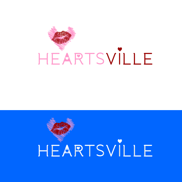 Logo Design by designs108 - Entry No. 35 in the Logo Design Contest Unique Logo Design Wanted for Heartsville.