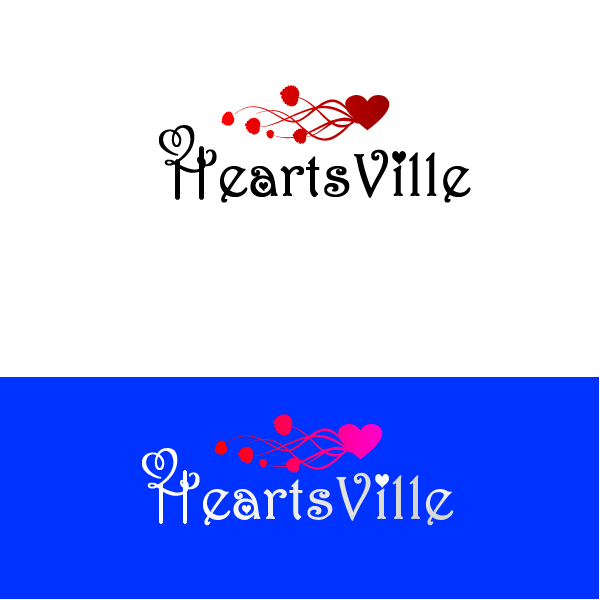 Logo Design by designs108 - Entry No. 37 in the Logo Design Contest Unique Logo Design Wanted for Heartsville.