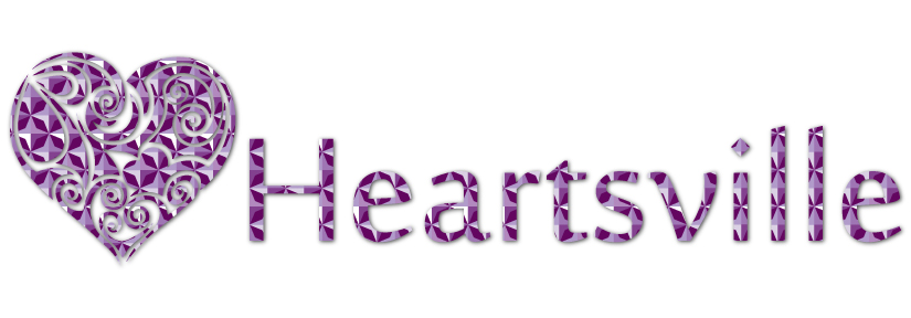 Logo Design by Prasad Dhale - Entry No. 38 in the Logo Design Contest Unique Logo Design Wanted for Heartsville.