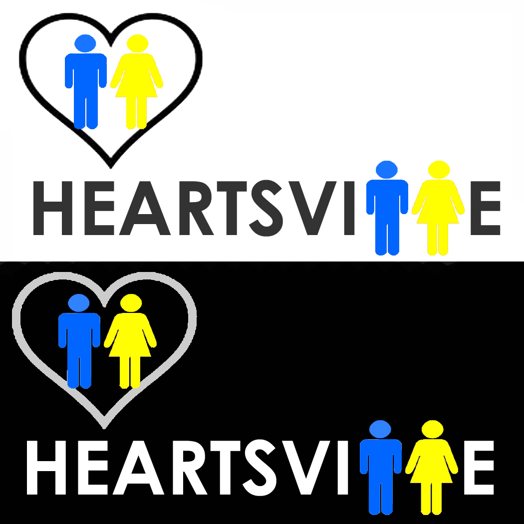 Logo Design by Robyn Hodgdon - Entry No. 44 in the Logo Design Contest Unique Logo Design Wanted for Heartsville.