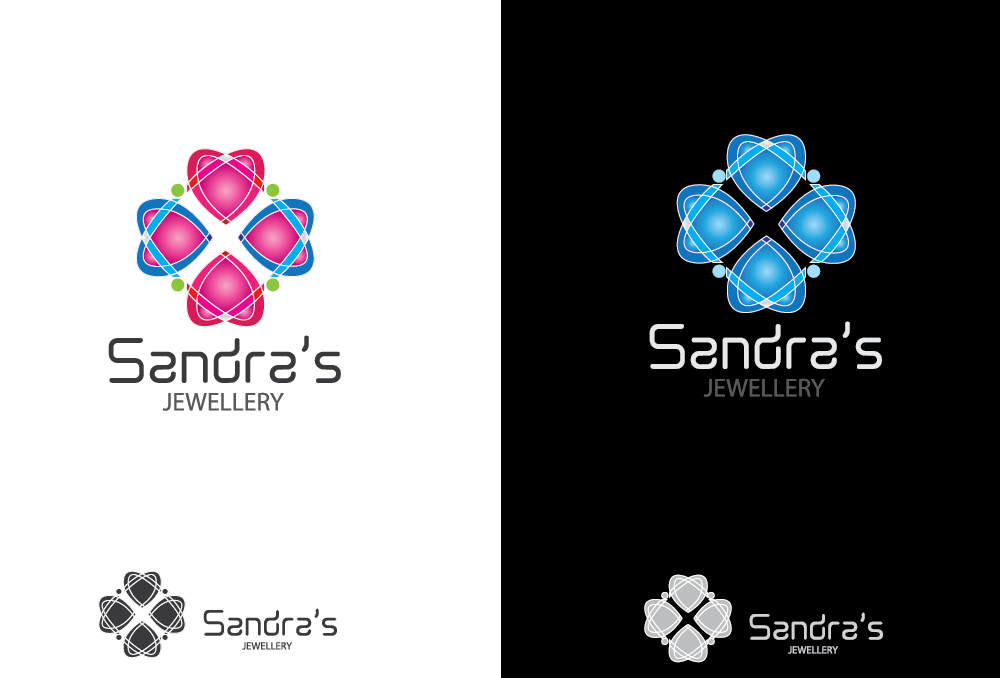 Logo Design by Private User - Entry No. 77 in the Logo Design Contest Imaginative Logo Design for Sandra's.