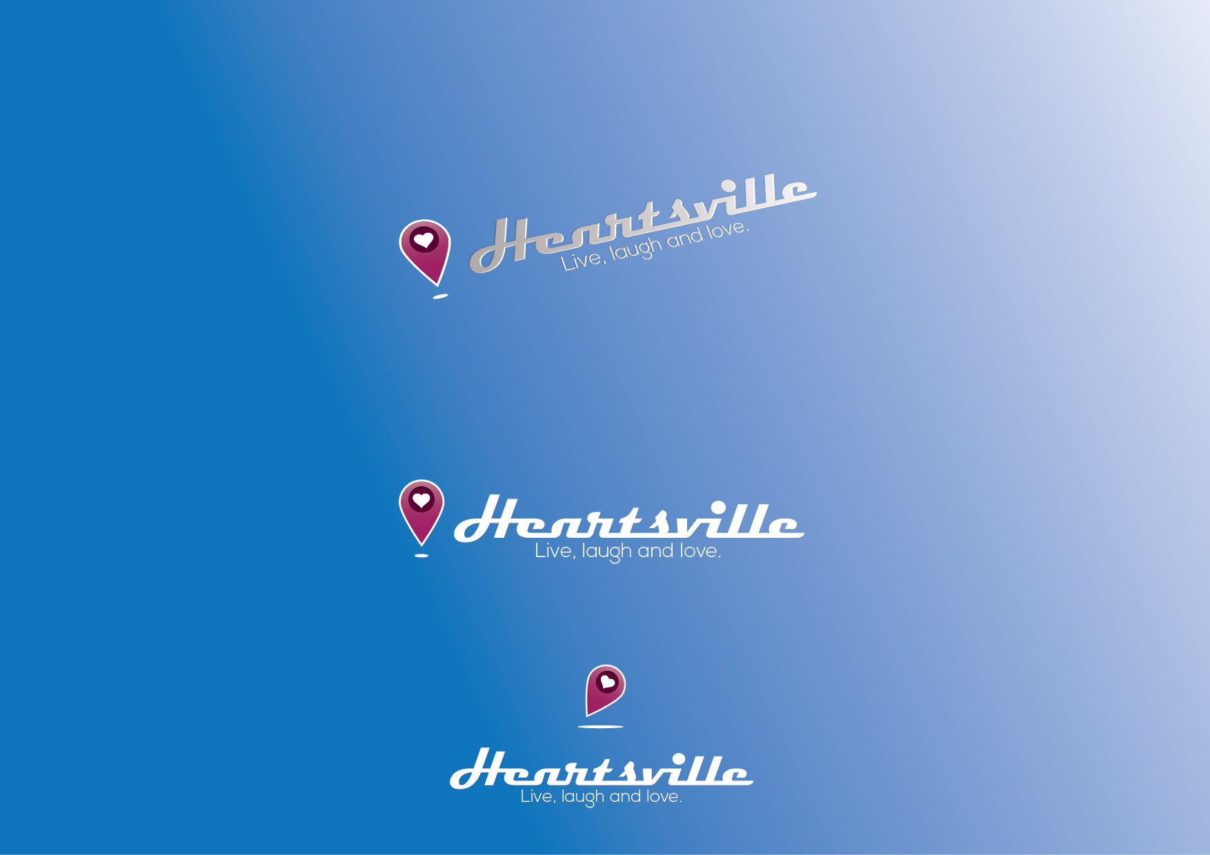 Logo Design by Bojan Oreskovic - Entry No. 45 in the Logo Design Contest Unique Logo Design Wanted for Heartsville.
