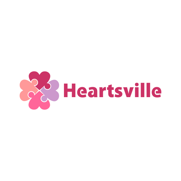 Logo Design by Rudy - Entry No. 46 in the Logo Design Contest Unique Logo Design Wanted for Heartsville.