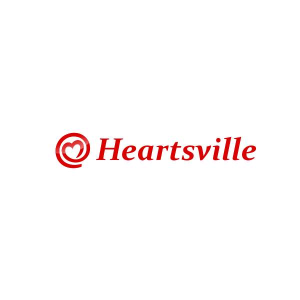 Logo Design by Rudy - Entry No. 47 in the Logo Design Contest Unique Logo Design Wanted for Heartsville.