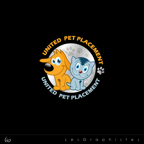 Logo Design by Les-Graphistes - Entry No. 86 in the Logo Design Contest Artistic Logo Design for united pet placement.