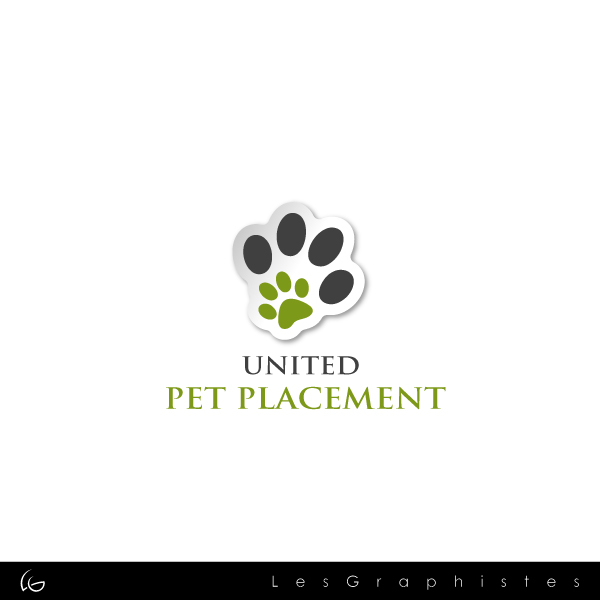 Logo Design by Les-Graphistes - Entry No. 87 in the Logo Design Contest Artistic Logo Design for united pet placement.