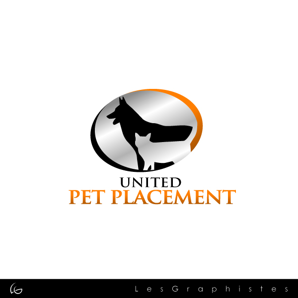 Logo Design by Les-Graphistes - Entry No. 88 in the Logo Design Contest Artistic Logo Design for united pet placement.