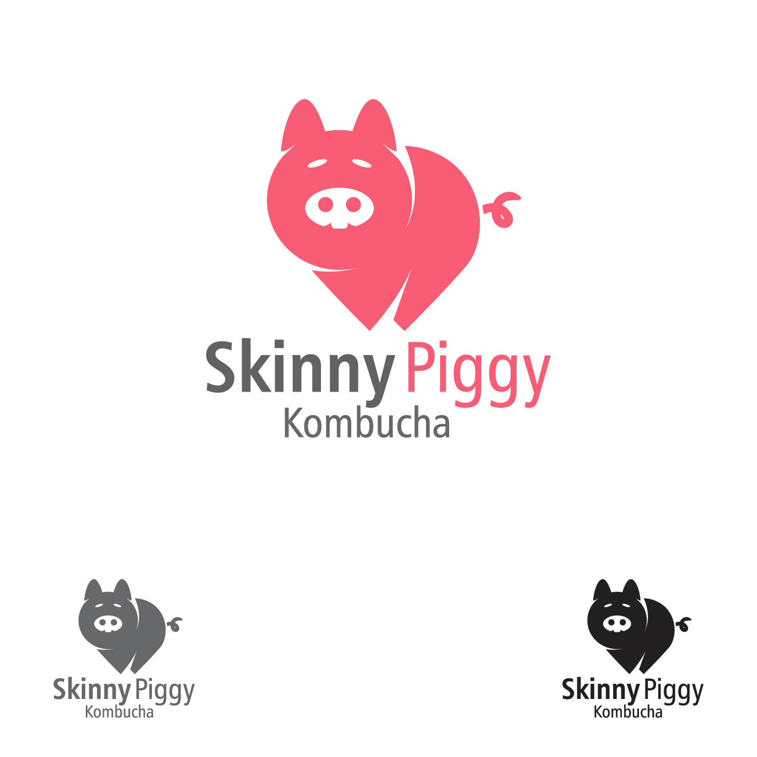 Logo Design by lagalag - Entry No. 19 in the Logo Design Contest Fun Logo Design for Skinny Piggy.