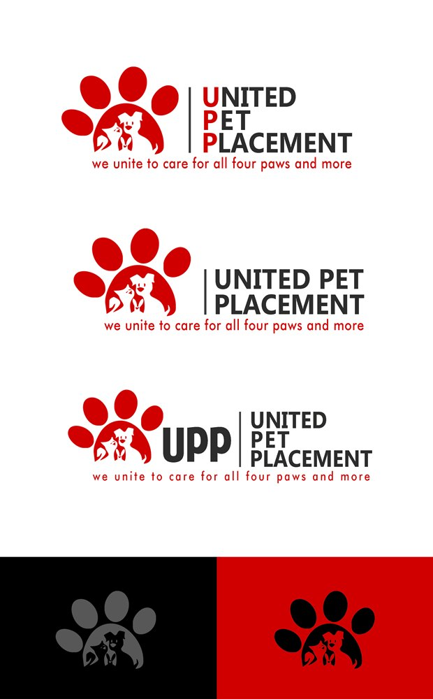 Logo Design by Respati Himawan - Entry No. 91 in the Logo Design Contest Artistic Logo Design for united pet placement.