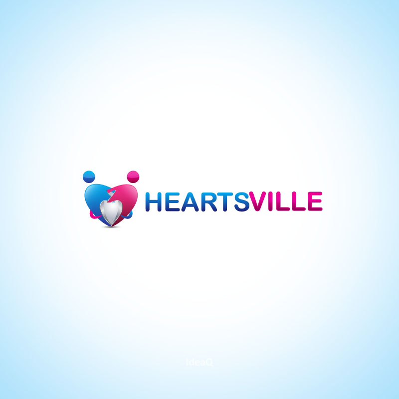 Logo Design by Private User - Entry No. 50 in the Logo Design Contest Unique Logo Design Wanted for Heartsville.