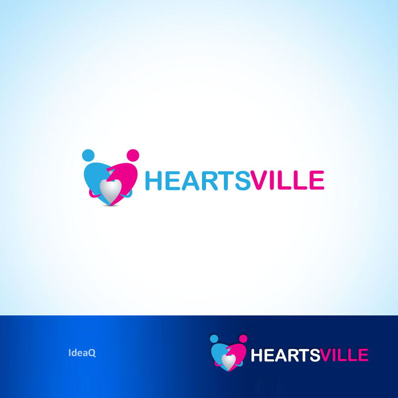 Logo Design by Private User - Entry No. 51 in the Logo Design Contest Unique Logo Design Wanted for Heartsville.