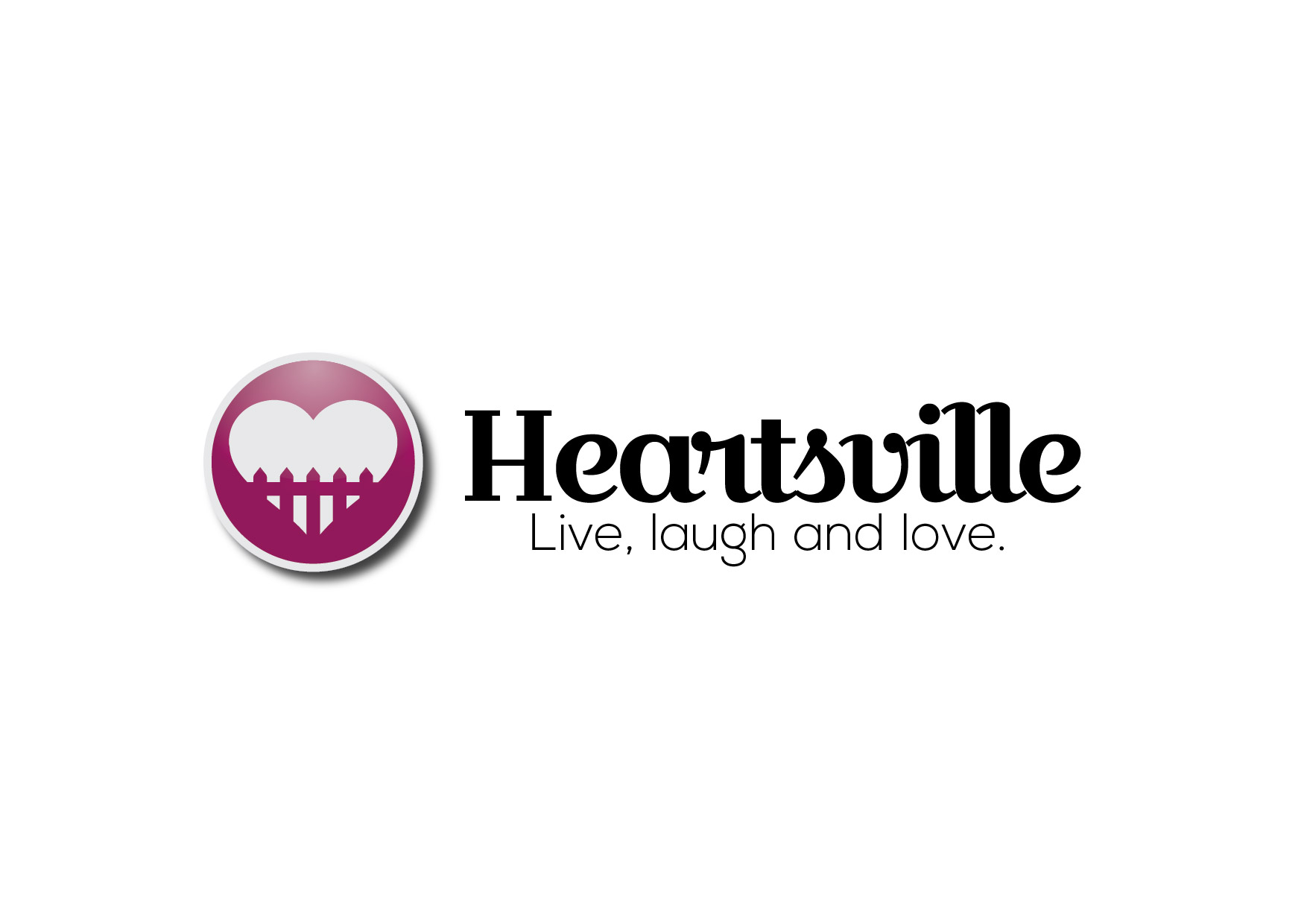 Logo Design by Bojan Oreskovic - Entry No. 52 in the Logo Design Contest Unique Logo Design Wanted for Heartsville.